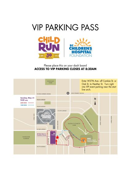 2015 childrun parking pass