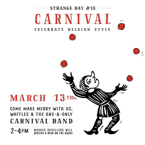 carnival band march 13 2016 strange fellows